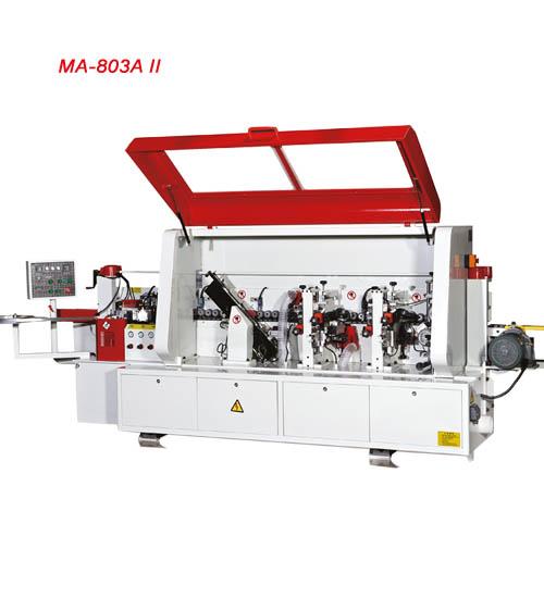 ماشین لبه چسبان اتوماتیک با سرعت متغیر 6 ایستگاه خدماتی با کنترل PLC محک MA-803AII