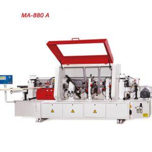 ماشین لبه چسبان اتوماتیک با سرعت متغیر (6 ایستگاه) با کنترل PLC محک MA-880A