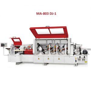 ماشین لبه چسبان اتوماتیک 7 ایستگاه پیش فرز دار با کنترل PLC محک MA-803 DJ-1