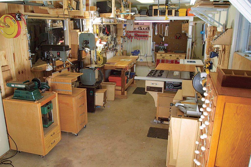ابزارآلات مناسب جهت تجهیز کارگاه نجاری کوچک