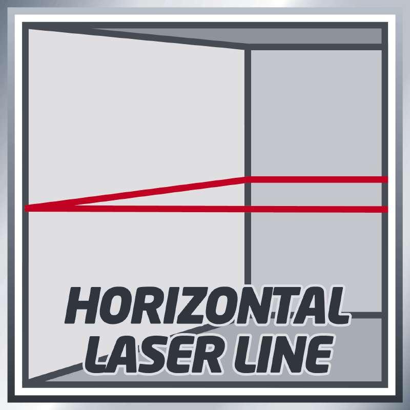 تراز لیزری متقاطع 360 درجه با برد 20 متر TC-LL 360